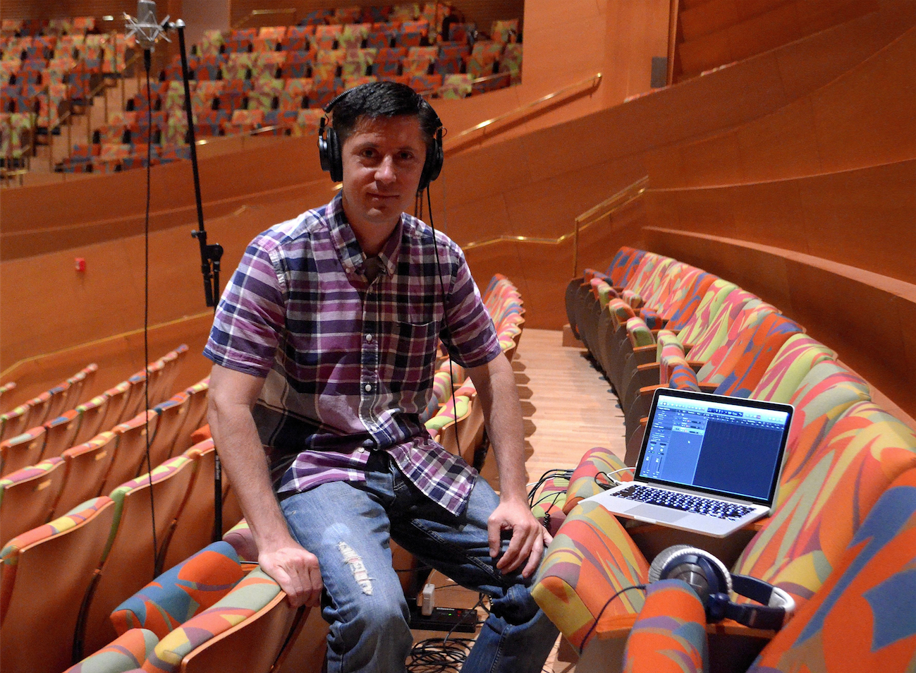 Recording at Walt Disney Concert Hall </strong>